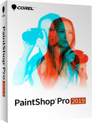 Corel PaintShop Pro 2019, EAN: 0735163153330, Best.Nr. CO-374, erschienen , € 59,90