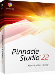 Pinnacle Studio 22 Standard, EAN: 0735163153576, Best.Nr. CO-377, erschienen 08/2018, € 47,30