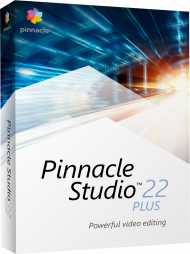 Pinnacle Studio 22 Plus, EAN: 0735163153620, Best.Nr. CO-378, erschienen 08/2018, € 74,80