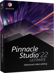 Pinnacle Studio 22 Ultimate, EAN: 0735163153675, Best.Nr. CO-379, erschienen 08/2018, € 97,90