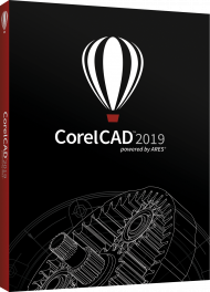 CorelCAD 2019 für Windows und Mac, EAN: 0735163154191, Best.Nr. CO-384, erschienen 02/2019, € 728,60