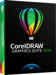 CorelDRAW Graphics Suite 2019 für Mac, EAN: 0735163154788, Best.Nr. CO-392, erschienen 03/2019, € 579,00