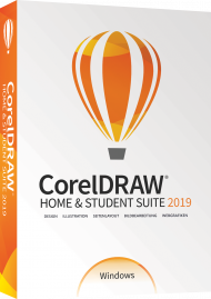 CorelDRAW Home & Student Suite 2019, EAN: 0735163155099, Best.Nr. CO-400, erschienen 05/2019, € 97,99
