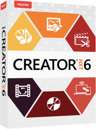 Roxio Creator NXT 6 (Download), Best.Nr. COO347, erschienen 10/2017, € 59,95