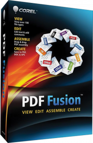 Corel PDF Fusion 1 (Download), Best.Nr. COO371, erschienen 07/2018, € 37,20