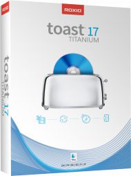 Roxio Toast 17 Titanium (Download), Best.Nr. COO372, erschienen 08/2018, € 79,95