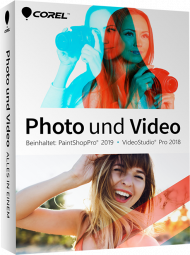 Corel Photo und Video - Alles in einem, Best.Nr. COO376, erschienen 08/2018, € 74,60