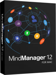 MindManager 12 für Mac - Upgrade (Download), Best.Nr. COO388, erschienen 02/2019, € 119,95