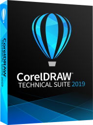 CorelDRAW Technical Suite 2019 (Download), EAN: 0735163155525, Best.Nr. COO401, erschienen 07/2019, € 829,00