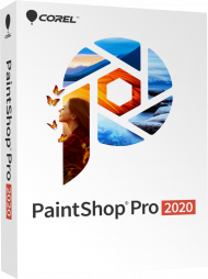 Corel PaintShop Pro 2020, EAN: 0735163156225, Best.Nr. COO408, erschienen 08/2019, € 56,95