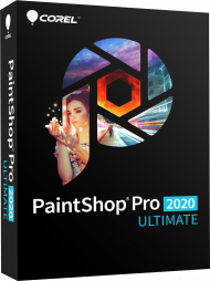 Corel PaintShop Pro 2020 Ultimate, EAN: 0735163156263, Best.Nr. COO409, erschienen 08/2019, € 74,95