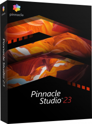 Pinnacle Studio 23 Standard, EAN: 0735163156324, Best.Nr. COO410, erschienen 08/2019, € 46,95