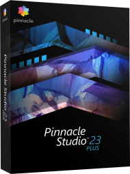 Pinnacle Studio 23 Plus, EAN: 0735163156317, Best.Nr. COO411, erschienen 08/2019, € 74,95