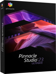 Pinnacle Studio 23 Ultimate, EAN: 0735163156300, Best.Nr. COO412, erschienen 08/2019, € 97,95