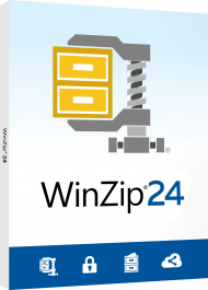 WinZip 24 Standard (Download), Best.Nr. COO415, erschienen 09/2019, € 38,95