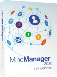 MindManager 2020 für Windows - Upgrade (Download), Best.Nr. COO419, erschienen 10/2019, € 218,70