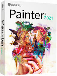 Corel Painter 2021 - Education Edition, Win/Mac, Best.Nr. COO427, erschienen 07/2020, € 89,95