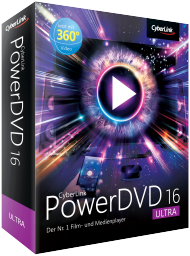 CyberLink PowerDVD 16 Ultra Upg v.13/14/15 Ultra/Pro, Best.Nr. CY-222, € 44,95