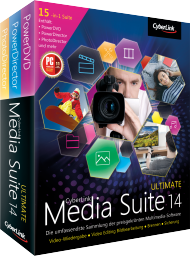 CyberLink Media Suite 14 Ultimate UPG v 11-13 Ultimate, Best.Nr. CY-230, € 59,95