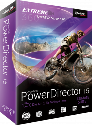 CyberLink PowerDirector 15 Ultimate Suite, Best.Nr. CY-232, € 199,00