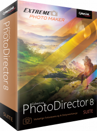 CyberLink PhotoDirector 8 Suite UPG v. 5-7 Suite, Best.Nr. CY-240, € 69,95