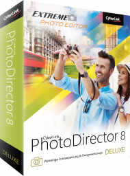 CyberLink PhotoDirector 8 Deluxe f�r Windows, Best.Nr. CY-243, € 49,95