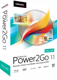 CyberLink Power2Go 11 Deluxe für Windows, Best.Nr. CY-249, € 29,95