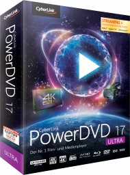CyberLink PowerDVD 17 Ultra, Best.Nr. CY-250, € 79,95