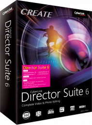 CyberLink Director Suite 6, Best.Nr. CY-259, € 239,00