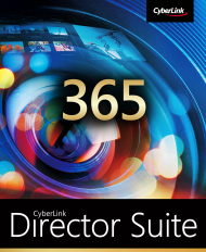 CyberLink Director Suite 365 für 1 Jahr, ESD, Best.Nr. CY-285, erschienen 09/2018, € 99,95