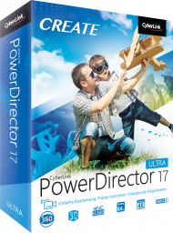 CyberLink PowerDirector 17 Ultra für Windows, Best.Nr. CY-291, erschienen 09/2018, € 79,95