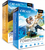 CyberLink Ultra Duo PhotoDirector10 & PowerDirector17, Best.Nr. CY-297, erschienen 09/2018, € 99,00