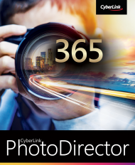 PhotoDirector 365 für Windows Jahresabo (Download), Best.Nr. CY-299, erschienen 02/2019, € 44,95