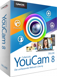 CyberLink YouCam 8 Deluxe für Windows, Best.Nr. CY-301, erschienen 02/2019, € 37,95