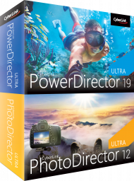 CyberLink PowerDirector 19 Ultra & PhotoDirector 12 Ultra Duo UPG, Best.Nr. CY-331, € 89,95