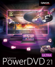 PowerDVD 21 Ultra für Windows, Best.Nr. CY-337, erschienen 04/2021, € 79,95