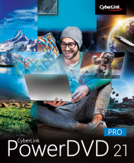 PowerDVD 21 Pro für Windows, Best.Nr. CY-339, erschienen 04/2021, € 59,95