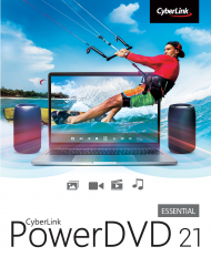PowerDVD 21 Standard für Windows, Best.Nr. CY-340, erschienen 04/2021, € 39,95