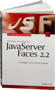 JavaServer Faces 2.2, ISBN: 978-3-86490-009-9, Best.Nr. DP-009, erschienen 01/2014, € 38,90