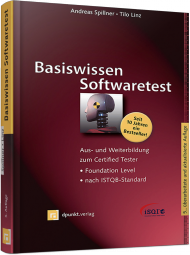 Basiswissen Softwaretest, ISBN: 978-3-86490-024-2, Best.Nr. DP-024, erschienen 09/2012, € 39,90