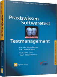 Praxiswissen Softwaretest - Testmanagement, ISBN: 978-3-86490-052-5, Best.Nr. DP-052, erschienen 06/2014, € 44,90