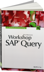 Workshop SAP Query, ISBN: 978-3-86490-053-2, Best.Nr. DP-053, erschienen 04/2014, € 42,90
