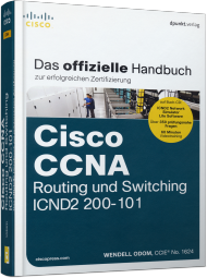 Cisco CCNA Routing und Switching ICND2 200-101, ISBN: 978-3-86490-110-2, Best.Nr. DP-110, erschienen 04/2014, € 59,90