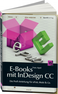E-Books mit InDesign CC, Best.Nr. DP-121, € 19,95