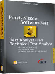 Praxiswissen Softwaretest - Test Analyst & Technical Test Analyst, ISBN: 978-3-86490-137-9, Best.Nr. DP-137, erschienen 03/2015, € 44,90