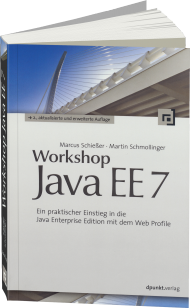 Workshop Java EE 7, ISBN: 978-3-86490-195-9, Best.Nr. DP-195, erschienen 11/2014, € 34,90