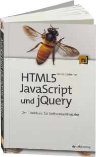 HTML5, JavaScript und jQuery, ISBN: 978-3-86490-268-0, Best.Nr. DP-268, erschienen 05/2015, € 29,90