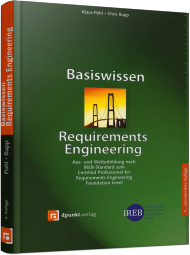 Basiswissen Requirements Engineering, ISBN: 978-3-86490-283-3, Best.Nr. DP-283, erschienen 04/2015, € 29,90