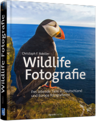 Wildlife-Fotografie, ISBN: 978-3-86490-300-7, Best.Nr. DP-300, erschienen 06/2016, € 39,90