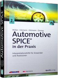 Automotive SPICE in der Praxis, ISBN: 978-3-86490-326-7, Best.Nr. DP-326, erschienen 08/2016, € 46,90